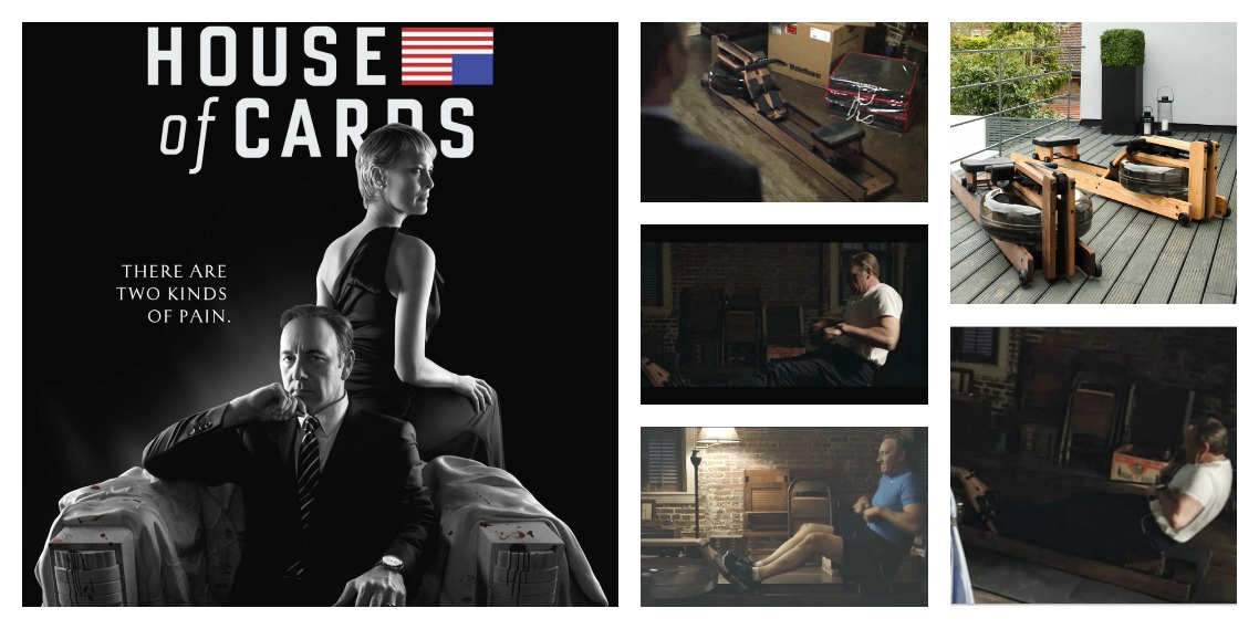 WaterRower-house of cards